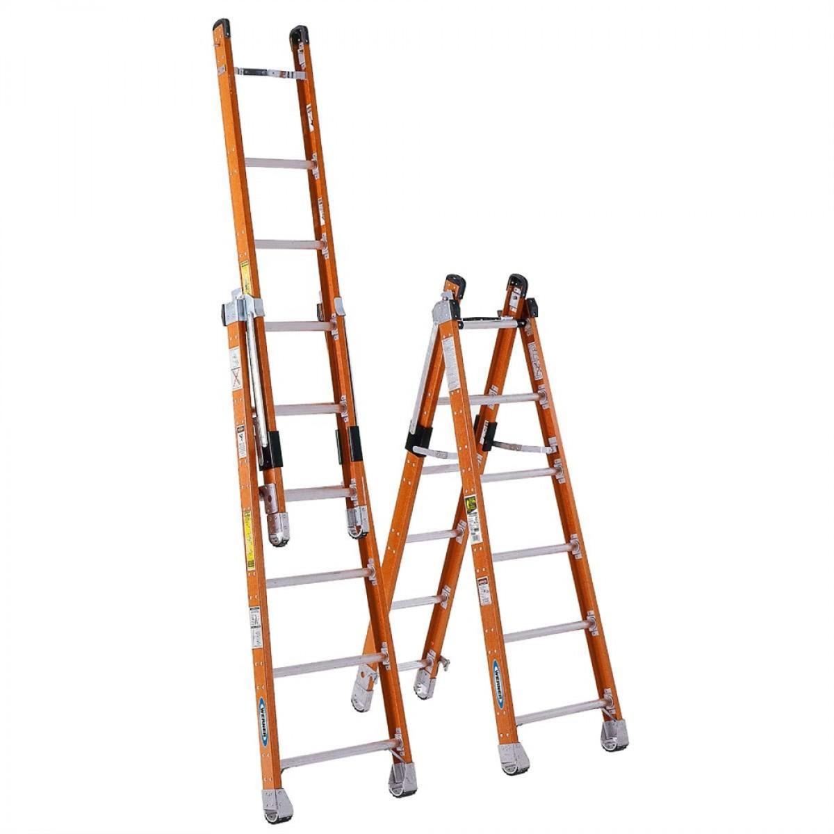 Werner Combination Step Extension Ladder 7800 6 8