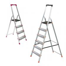 Alum Step Ladder 150KG L230R Series (4 to 8 FT)