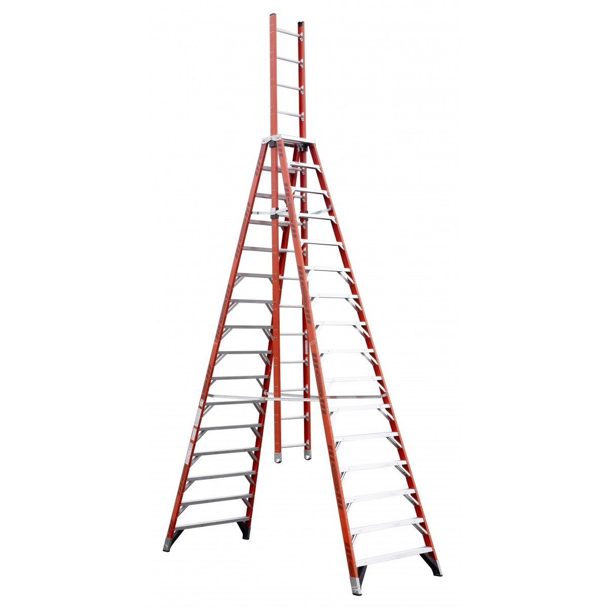 Werner Extension Trestle Ladder E7400 8 16