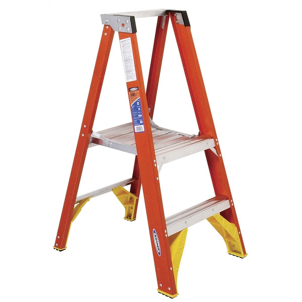 Werner Platform Ladder P6200 2 10