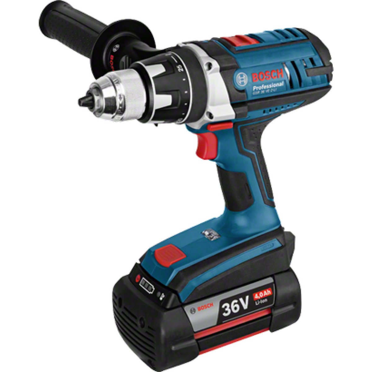 bosch cordless drill driver gsr 36 ve 2 li. Black Bedroom Furniture Sets. Home Design Ideas