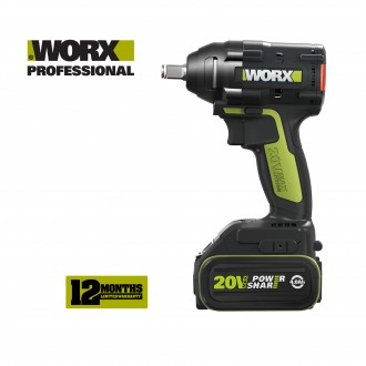 WORX 20V BL LI-ION IMPACT WRENCH 320NM (WU279)