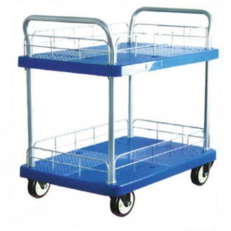 MPP DOUBLE DECK TROLLEY PU WHEEL 300KG MT300-T2