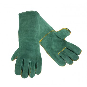"WELDING GLOVES 13"" GREEN (PAIR)"