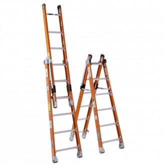 Werner Combination Step/Extension Ladder 7800 (6'-8')