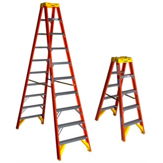 Werner FG Twin Stepladder, Type IA 300lb T6200AS series