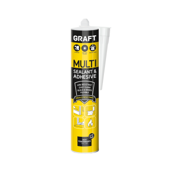 GRAFT MULTI SEALANT & ADHESIVE (WHITE)