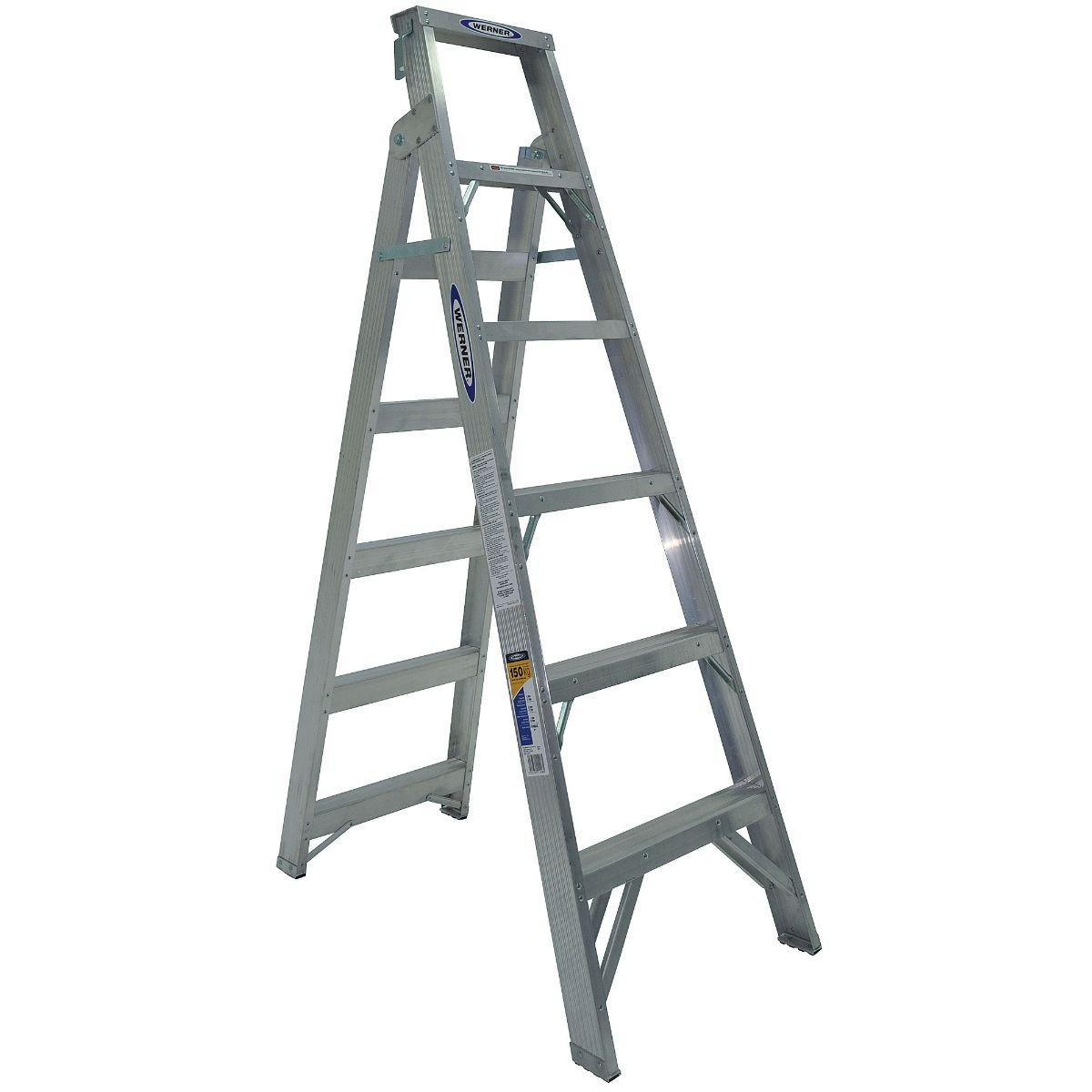 Werner Ladder Dual Purpose 150kg 6 8