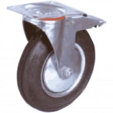 STD DUTY IND. CASTER WHEEL BRAKE 3""