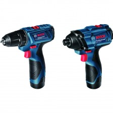 BOSCH LI-ION 12V COMBO KIT SET (GSR120+GDR120)