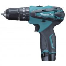 Makita Cordless Li-ion Hammer Driver Drill HP330DWE / HP330DWLE