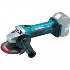 MAKITA LI-ION 18V 100MM GRINDER DGA404RTE