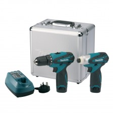 MAKITA LI-ION 10.8V COMBO KIT-LCT204 (DF330&TD090)