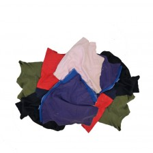 COTTON RAG UNSEW (COLOUR-LARGE) (BAG)