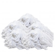 COTTON RAG UNSEW (WHITE-LARGE) (BAG)