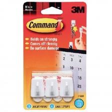 3M COMMAND MICRO HOOKS - 17066