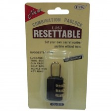 RESETTABLE COMBINATION PAD LOCK 311 (CH)