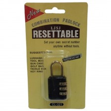 RESETTABLE COMBINATION PAD LOCK 321 (CH)