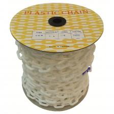 PLASTIC CHAIN-PE (WHITE) 6 X 40M (TW)