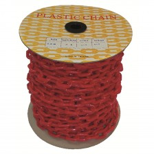 PLASTIC CHAIN-PE (RED) 6 X 40M (TW)