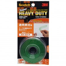 3M SCOTCH H/DUTY D/B SIDED TAPE KTD-19