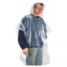 DISPOSABLE TRANSLUCENT PONCHO