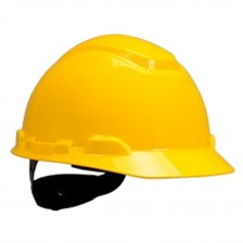 3M SAFETY HELMET WITH RATCHET GEAR YELLOW