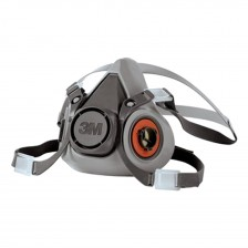 3M MEDIUM RESPIRATOR HALF FACEPIECE-6200