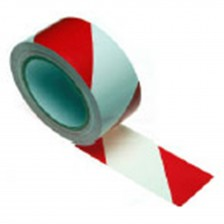 WARNING TAPE 48MMX45M (RED/WHITE)