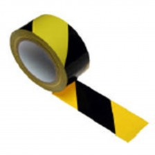 WARNING TAPE 48MMX45M (YELLOW/BLACK)
