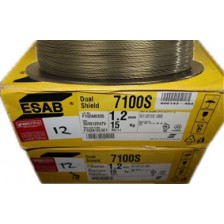 ESAB DUAL SHIELD FLUX CORE WIRE 7100S 1.2mm (15KG/SPL)