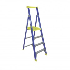 Bailey Fibreglass Platform Stepladder with Safety Gate