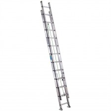 Werner D-Rung Aluminum Extension Ladder D1200-2 (16'-40')