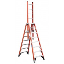 Werner Extension Trestle Ladder E7400 (8'-16')