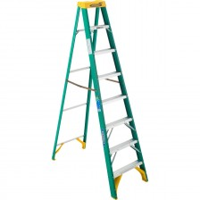 Werner FG Stepladder, Type II 225lb 5900AS series