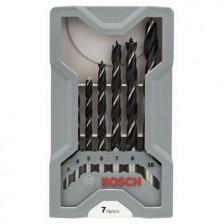 BOSCH Wood Drill Bit Set 7pc (3-10mm)
