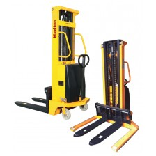 MAXITON SEMI-ELECTRIC STACKER- CTD-1.5 / 4.0M 1500KG