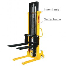 MAXITON HAND STACKER- CTY-EH 1.0 / 2.5M 1000KG / WITH 2-NYLON WHEEL