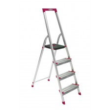 WERNER ALUM STEP LADDER 150KG L230R SERIES (4 to 8 FT)
