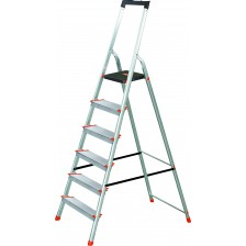 WERNER ALUM STEP LADDER 150KG L236R-2 (6 FT)