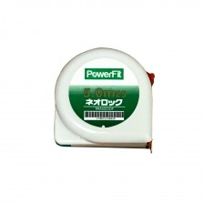 (Promo:Buy 12 Get 1 FREE) POWERFIT GEOMETRIC MEASURING TAPE RRA5025DF 5.0M X 25MM (FengShui)