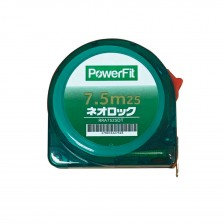(Promo:Buy 12 Get 1 FREE) POWERFIT MEASURING TAPE RRA7525DT 7.5M X 25MM (TPR)