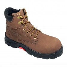 Aetos Ankle Lace-up Safety Boot Mocca Nubuck Leather TUNGSTEN