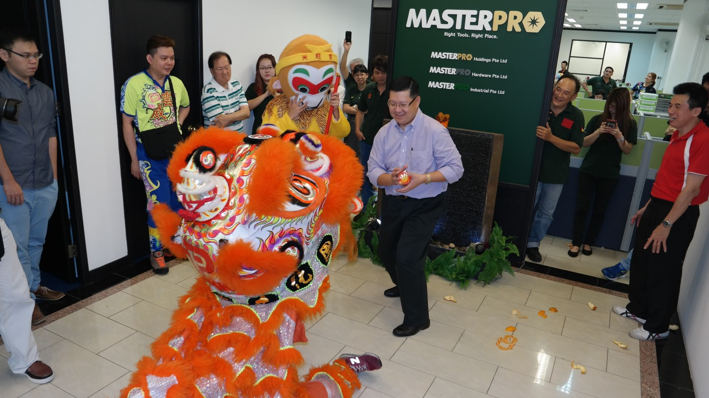 MasterPro CNY Opening Lion Dance - 2016 - Events